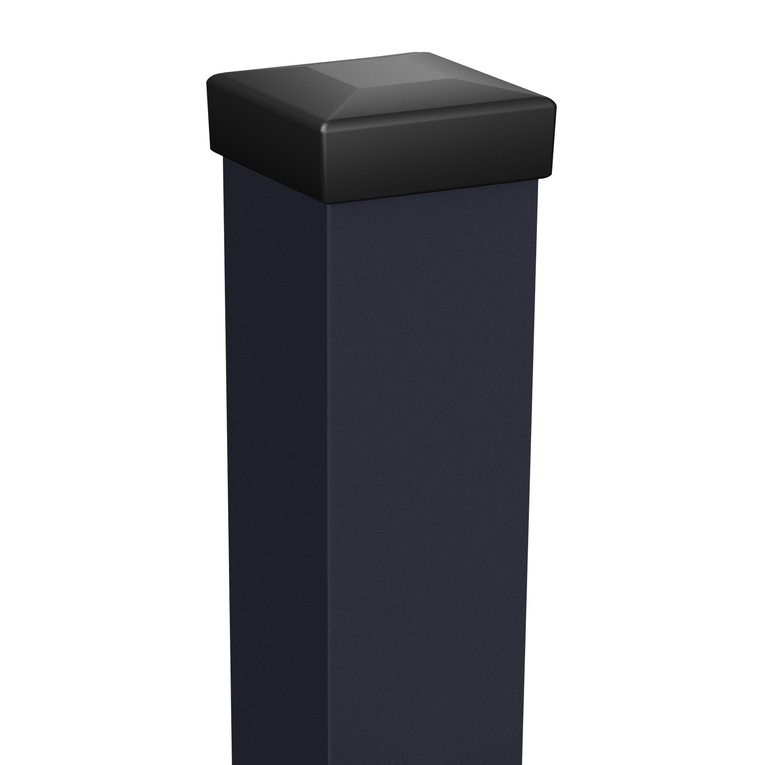 Dorazový sloupek 220 cm 10x10 cm Antracit 19,5Kg