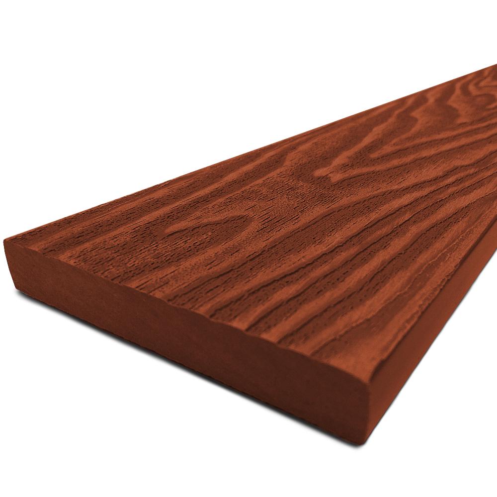 Dřevoplast WPC Premium plotovka 85x13 mm, rovná, červenohnědá v.: 3000 mm 4Kg
