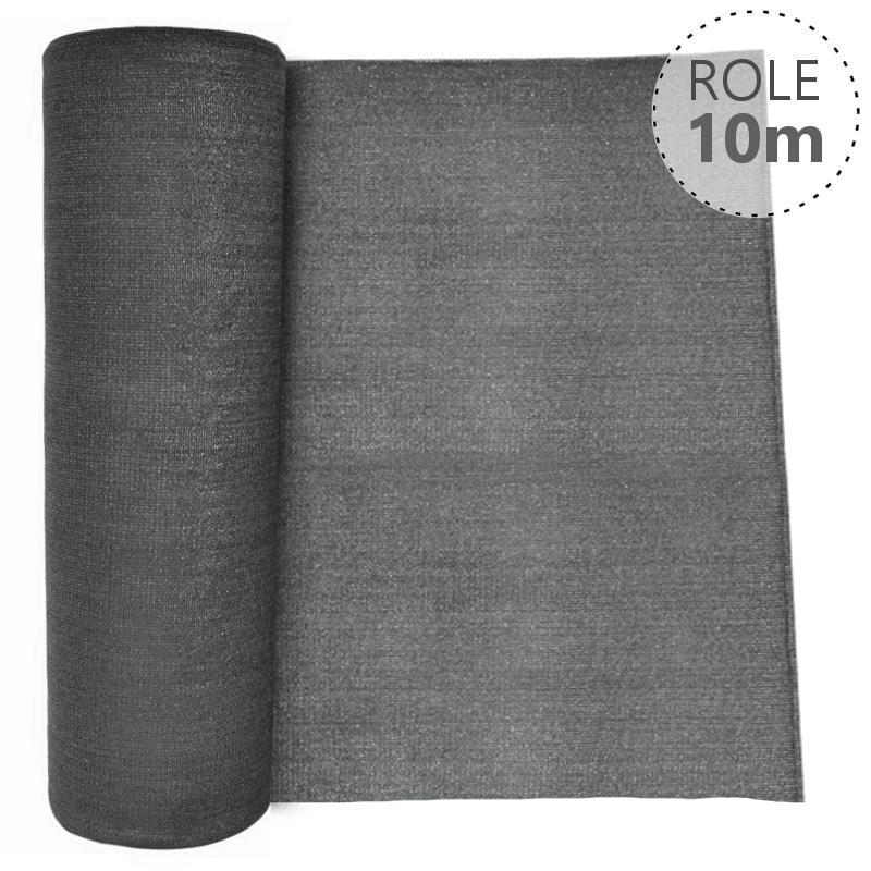 Stínící tkanina 100% - 230 g/m2, role 10 m, barva ANTRACIT v. v. 2000 mm, Délka role v metrech:: Délka role 10 m 4Kg