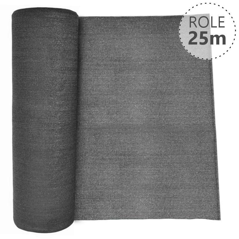 Stínící tkanina 100% - 230 g/m2, role 25 m, barva ANTRACIT v. v. 1500 mm, Délka role v metrech:: Délka role 25 m 4Kg