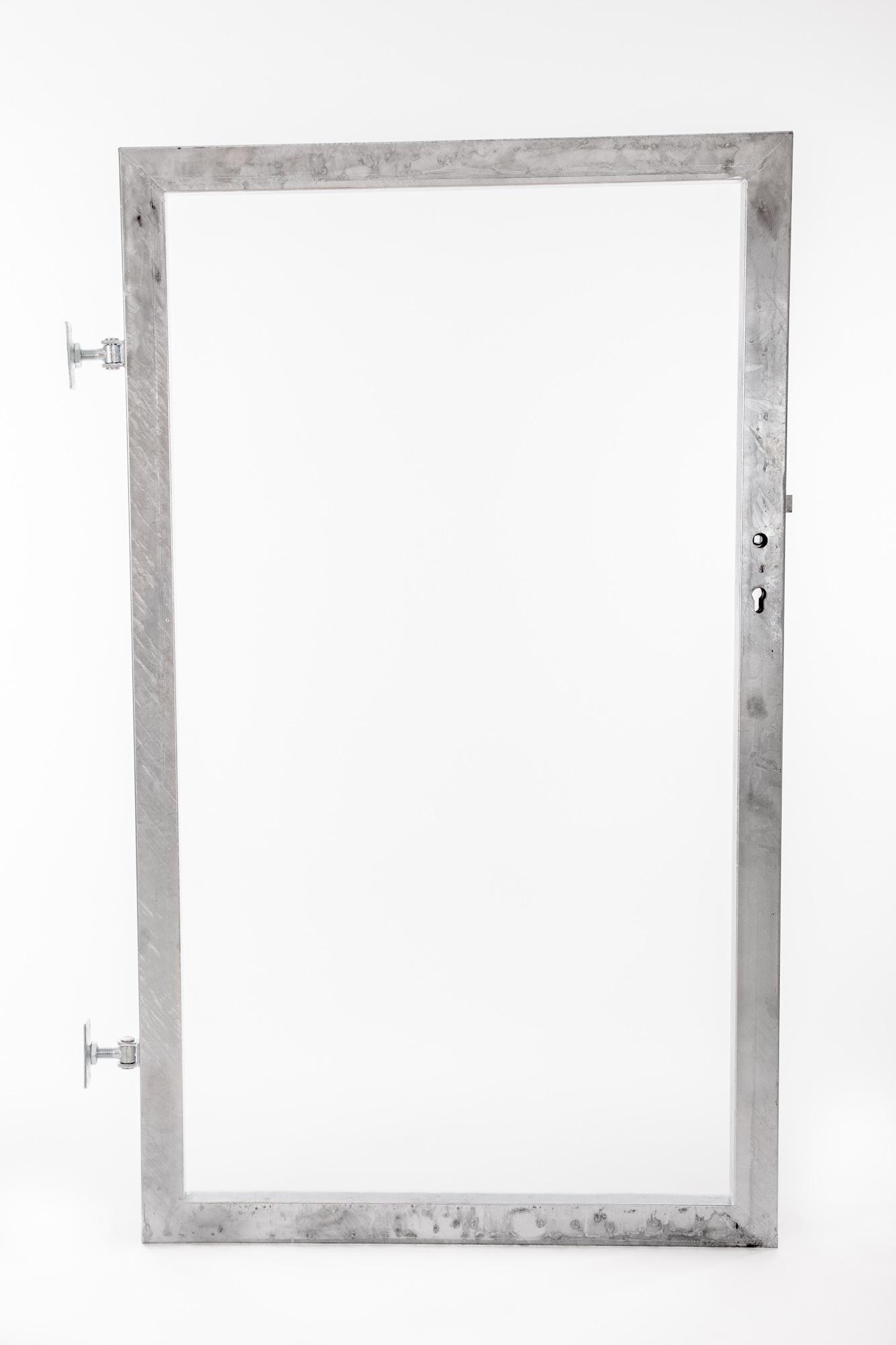 Rám branky pro vlastní výplň v. 1800 mm, bez příčníku 4Kg