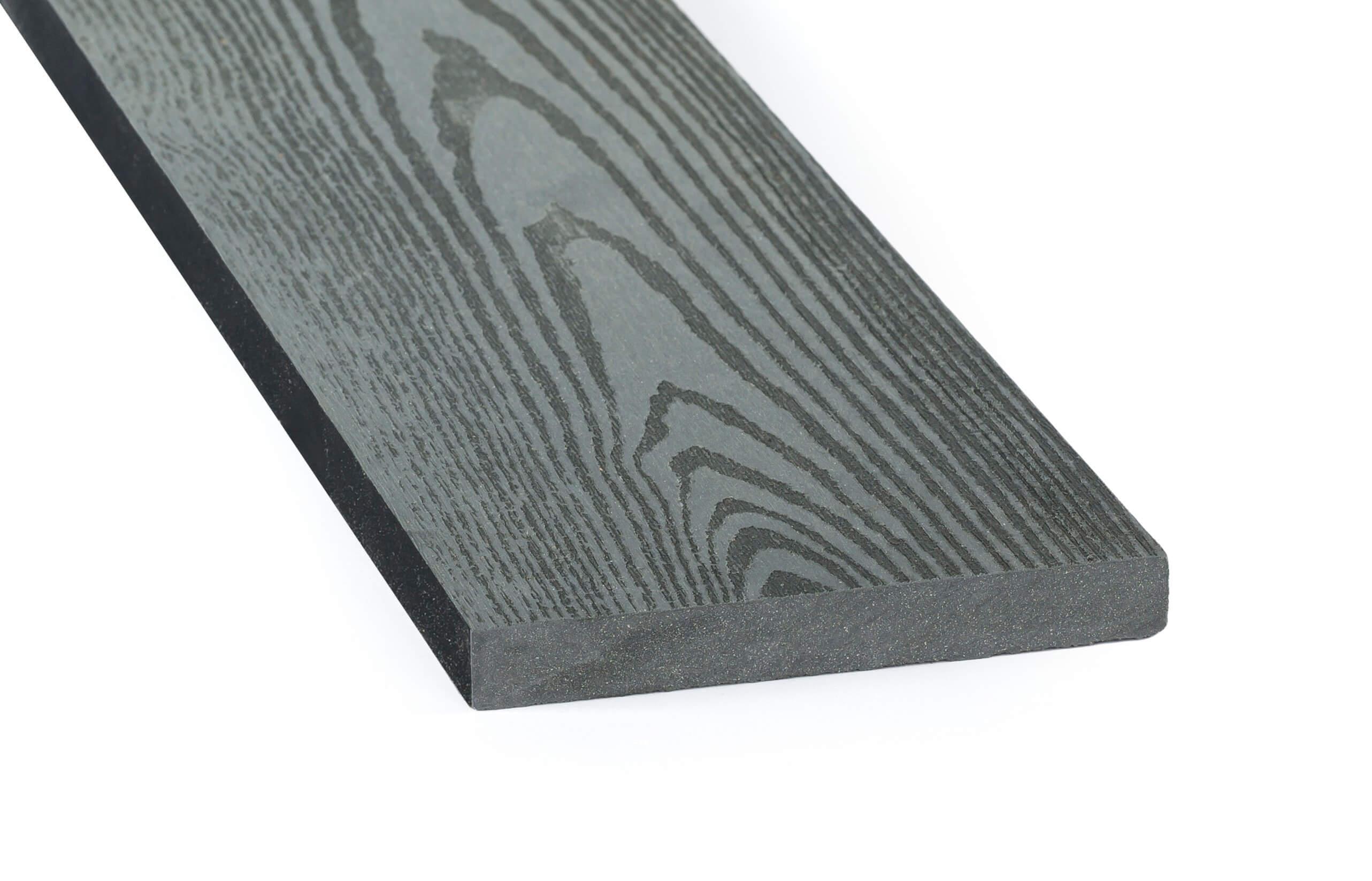 DAMIWPC plotovka 120x15 mm, rovná, šedá Délka v mm: 1500 mm