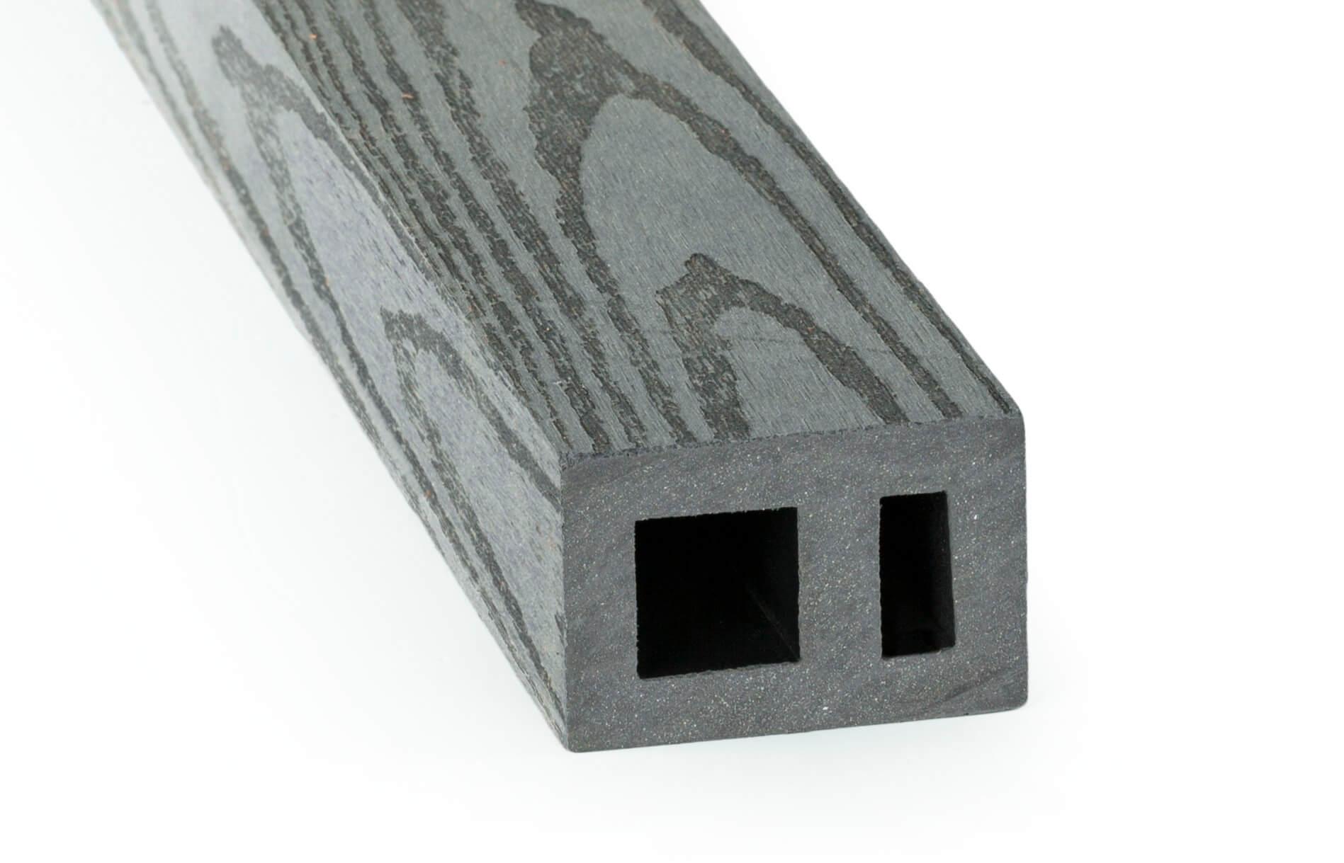 DAMIWPC hranol 60x40 mm, rovná, šedá Délka v mm: 1990 mm