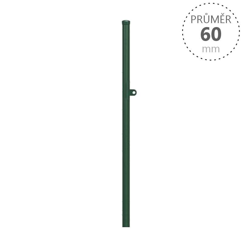 Sloupek dorazový k brance s Okem pro Branku v. 100 cm balení PLOTY | 8Kg