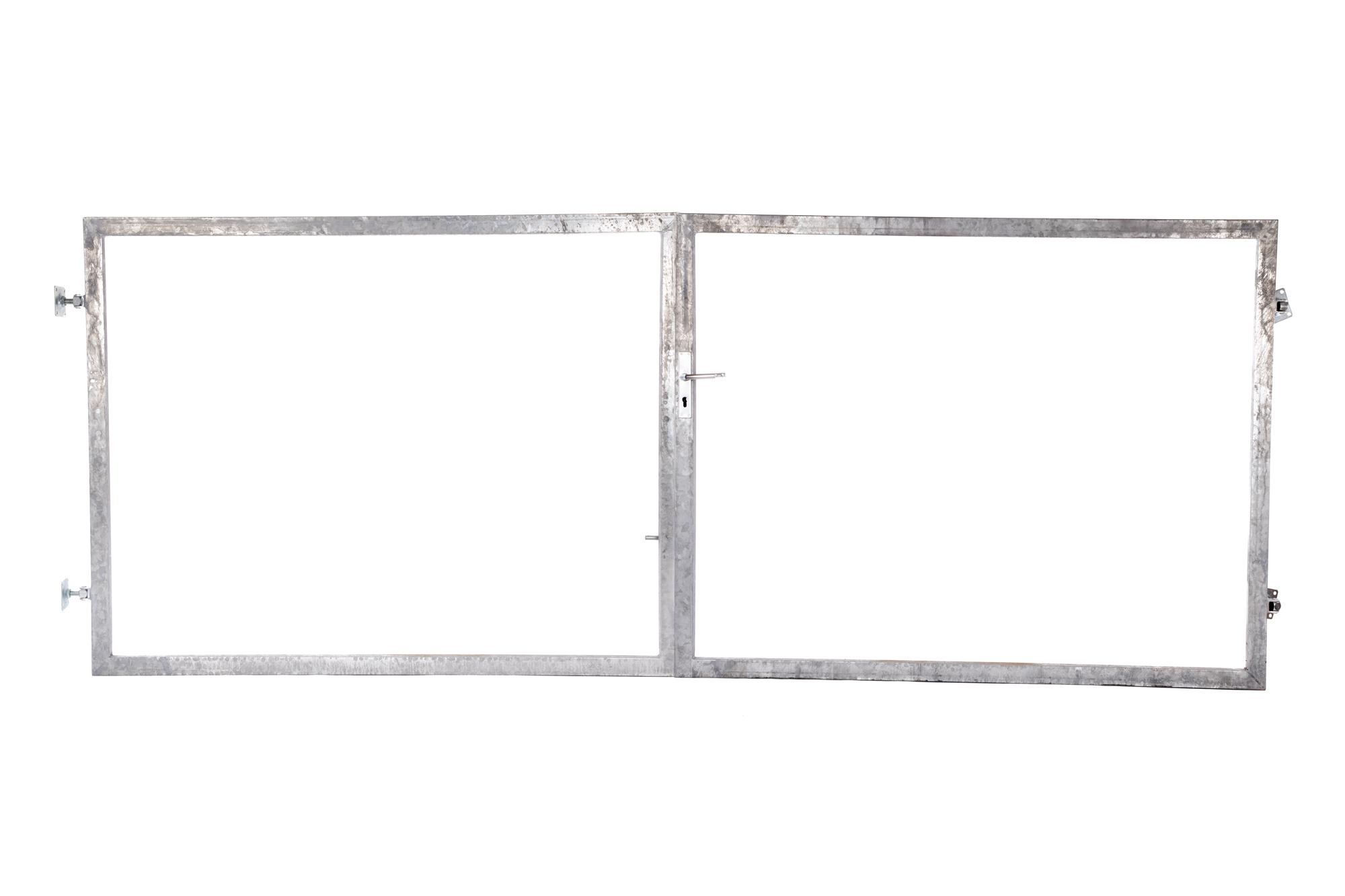 Rám brány pro vlastní výplň v. 1500 mm, bez příčníku balení PLOTY | 4Kg