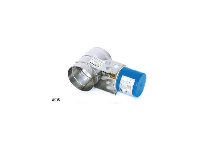 KW Komínová klapka automatická MUK 130