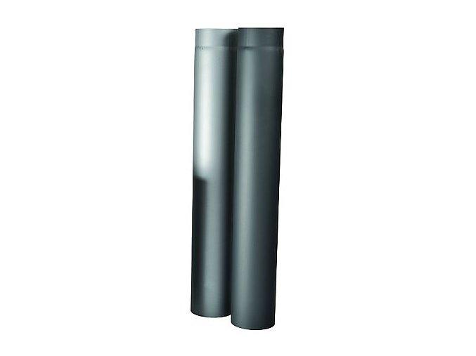 Kouřovod - rovný díl 1 m