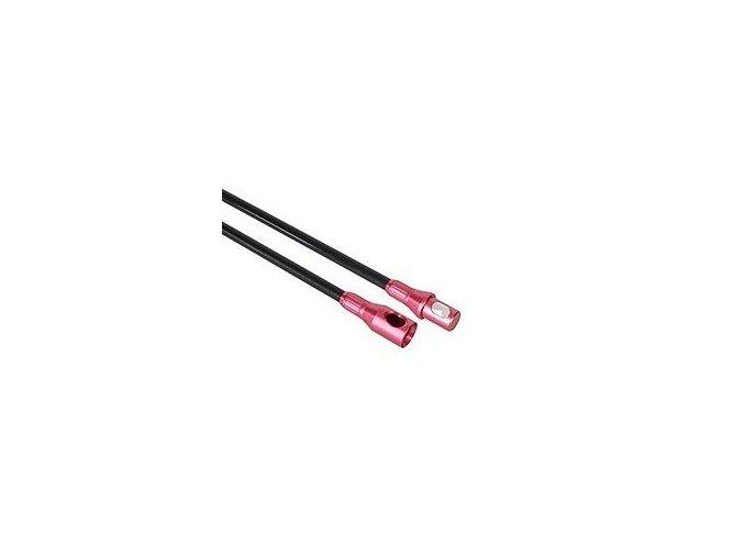 Tyč 10 mm růžová