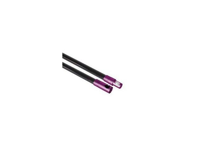 Tyč 20 mm fialová