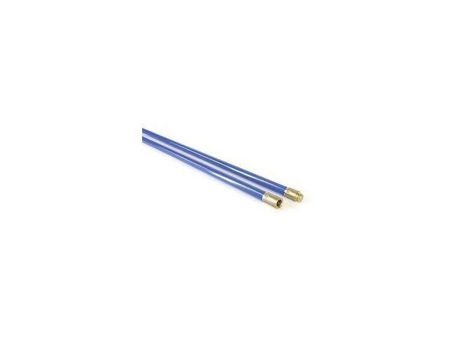 Pevná tyč 0,9 22 mm modrá