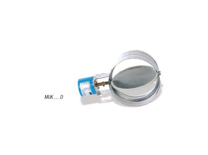 KW Komínová klapka automatická MUK 110 D