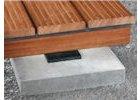 Přípravky pro montáž terasových prken