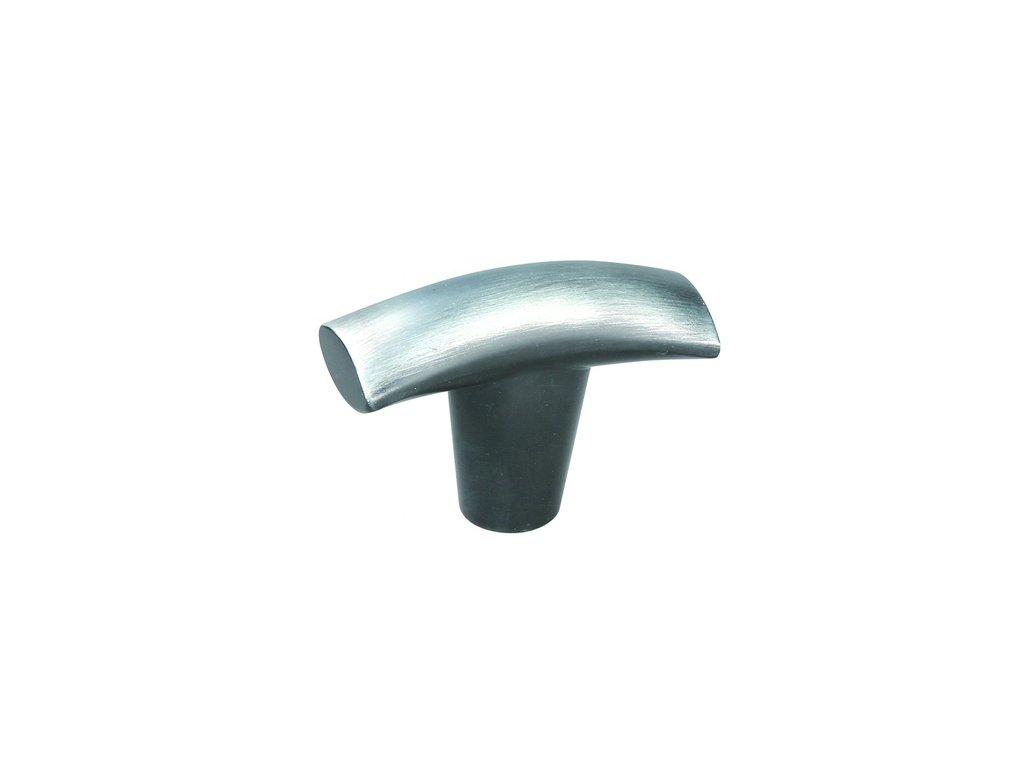 Tulip nábytková úchytka Fera broušená ocel, 284069, rozteč