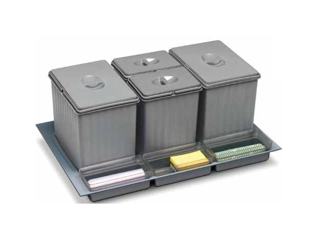 vestavný odpadkový koš  Sistema 938/3, 231180