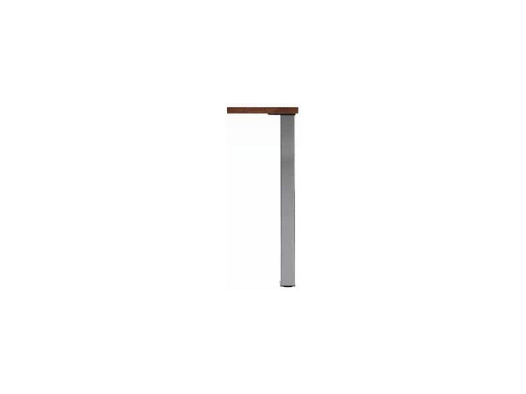 stolová imitace nerezi 710x60x60