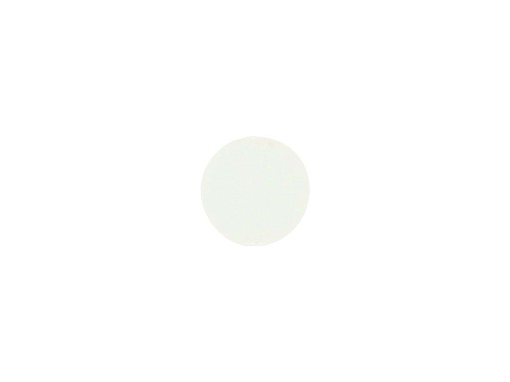 krytka nalepovací bílá signální