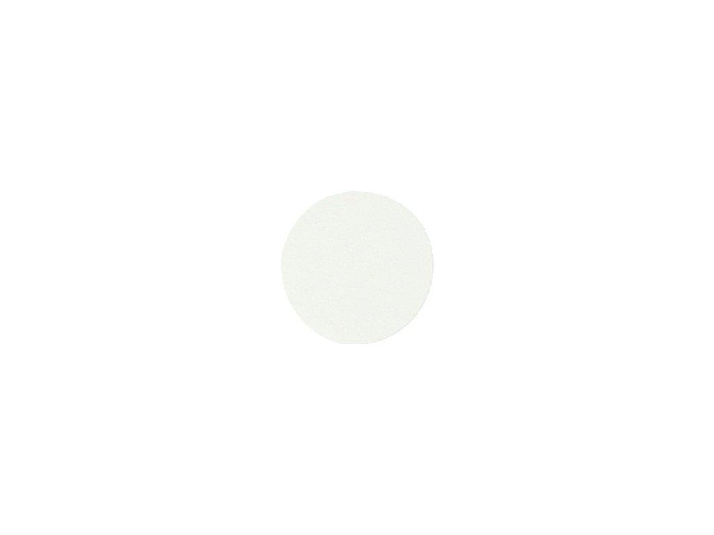krytka nalepovací bílá PE