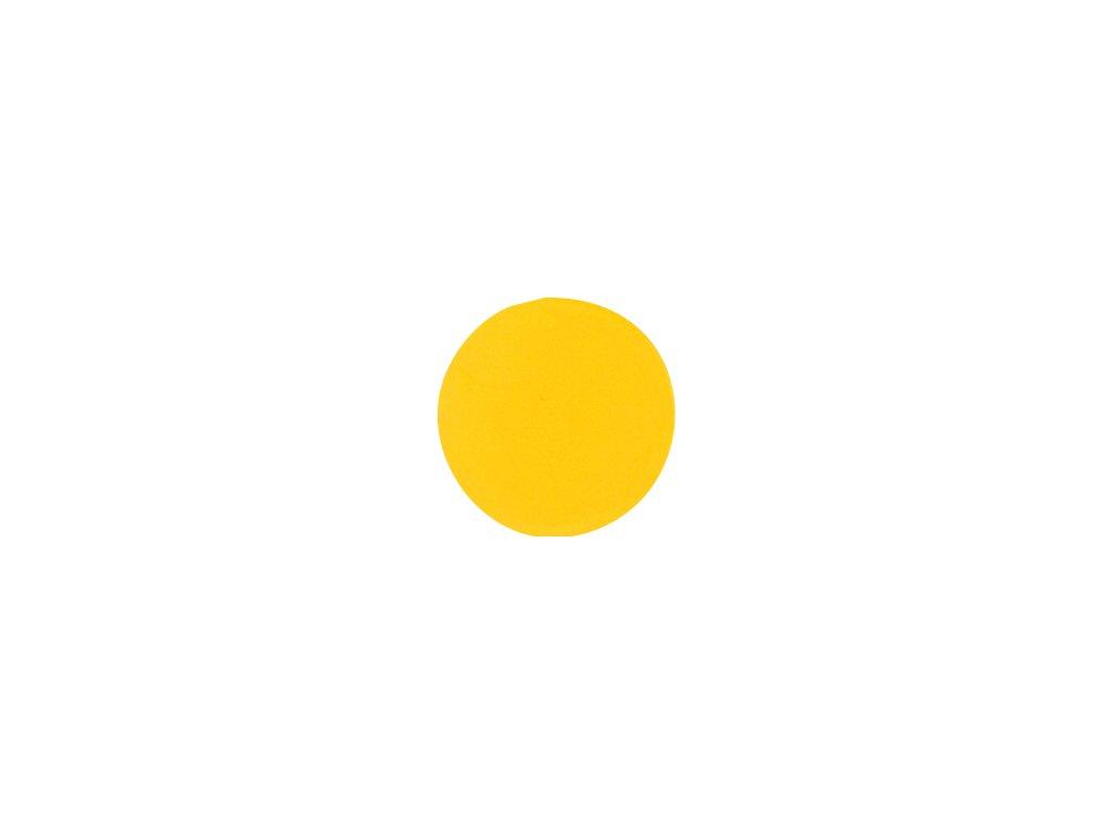 krytka nalepovací žlutá