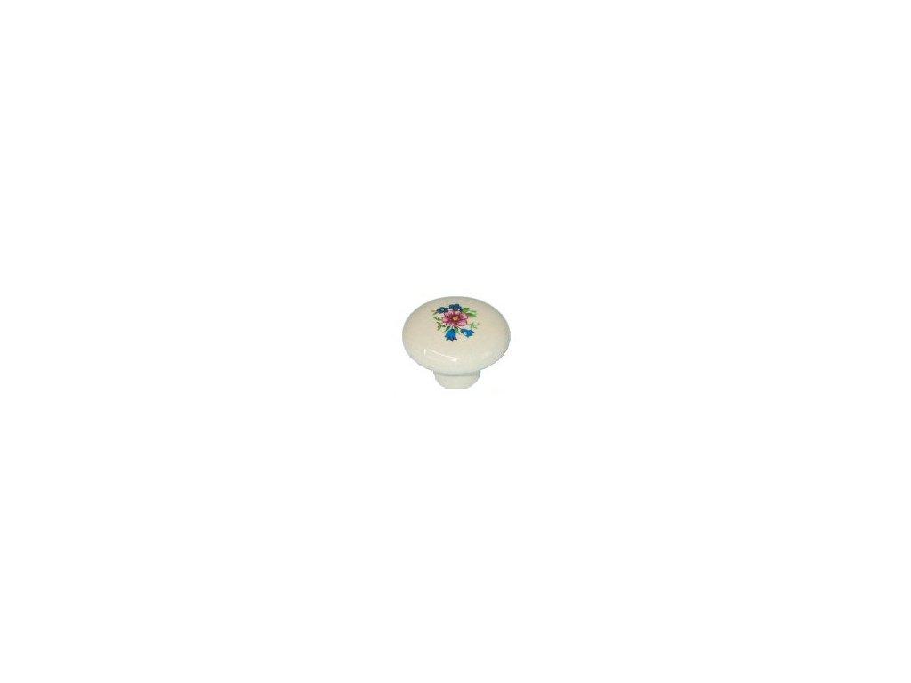 nábytková knopka rustikální Julka , 2001-1, rozteč