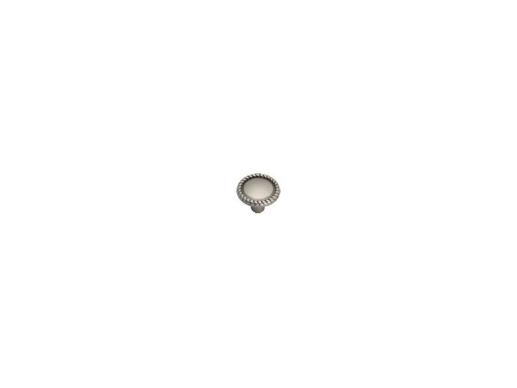 nábytková knopka rustikální Apasionado starostříbro, 2305-S, rozteč
