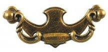 nábytková úchytka rustikální Brat staromosaz, 073-Z, rozteč 96mm