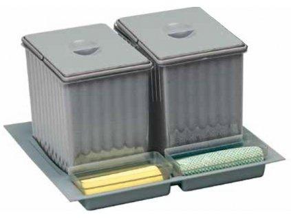 vestavný odpadkový koš  Sistema 901/2, 231190