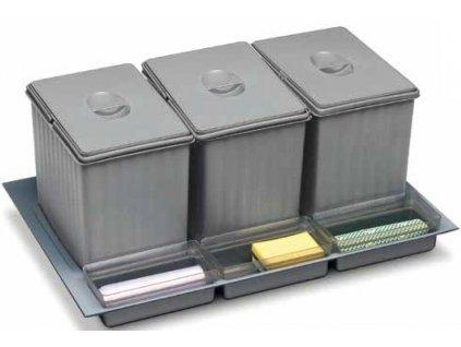 vestavný odpadkový koš  Sistema 938/3, 231182