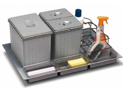 vestavný odpadkový koš  Sistema 939/2