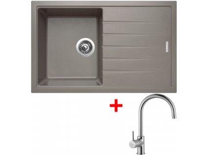 Sinks BEST 780 Truffle+VITALIA