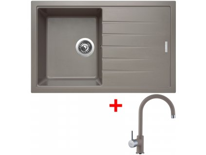 Sinks BEST 780 Truffle+VITALIA GR