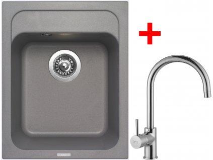 Sinks CLASSIC 400 Titanium+VITALIA
