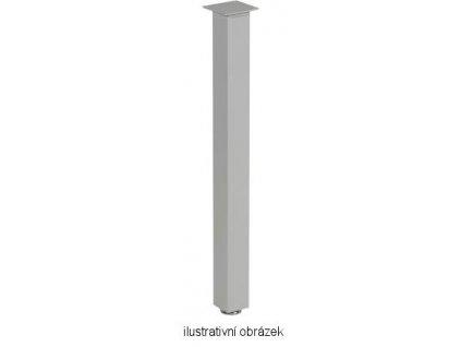 stolová noha ST602 stříbrná polomat 60x60