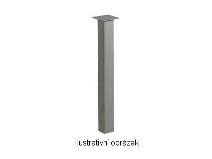 stolová noha ST722 antracit polomat 70x70