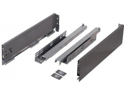 výsuv StrongMax 450/121mm, šedý, 335019