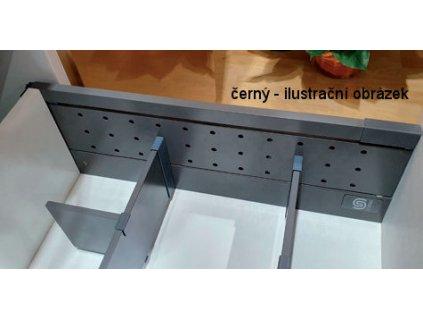 StrongMax dělící panel černý, 400551