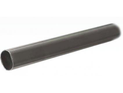 Šatní tyč A oválná 2m (: 15x30x2000mm, barva chrom)