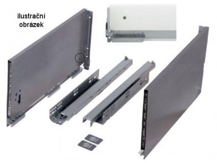 výsuv StrongMax 600/249mm, bílý, 400415