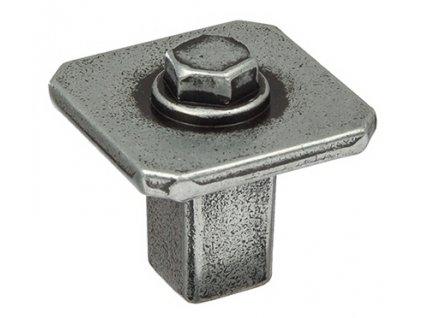 Metakor nábytková knopka rustikální Kentucky starocín, 351836, rozteč
