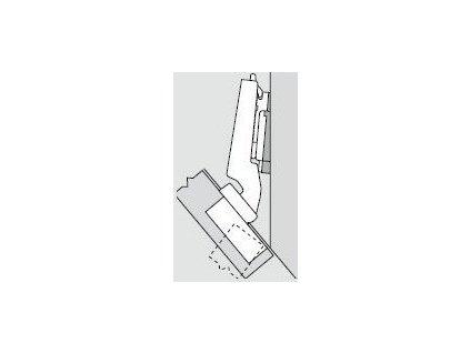 Blum sada závěsů pro skříňku o úhlu -50°  N° 26