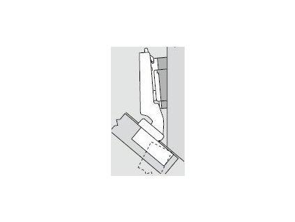 Blum sada závěsů pro skříňku o úhlu -40°  N° 28