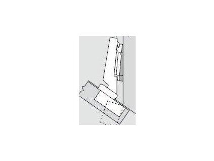 Blum sada závěsů pro skříňku o úhlu -35°  N° 29