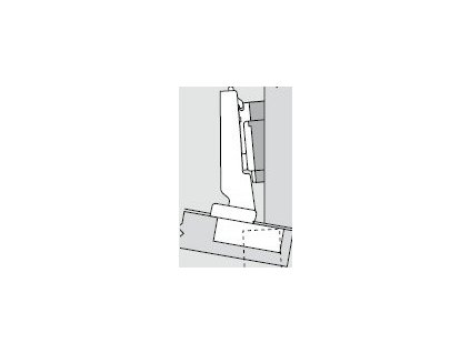Blum sada závěsů pro skříňku o úhlu -10°  N° 34