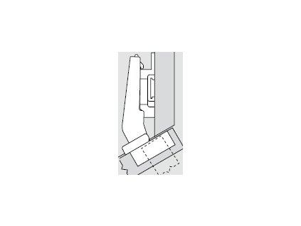 Blum sada závěsů pro skříňku o úhlu +30° N° 41
