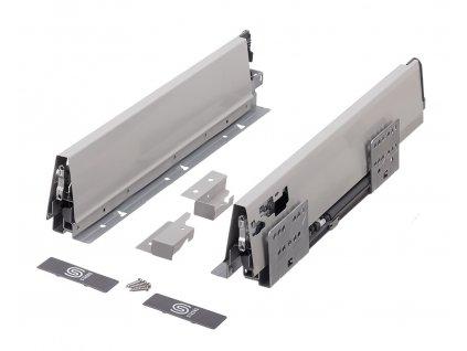 výsuv StrongBox 500/86mm, šedý, 146757