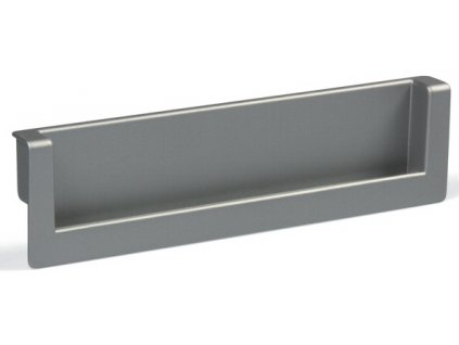 Tulip Nábytková úchytka zápustná Rapid stříbrná, 215529, rozteč 160mm