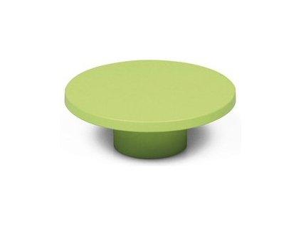 Tulip Nábytková úchytka P439 zelená, 265488, rozteč