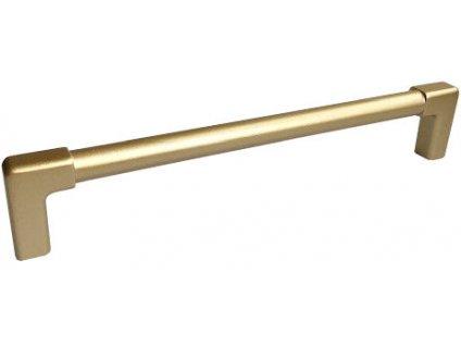 Bosetti Marella Nábytková úchytka Vitruvio zlatá matná, 405062, rozteč 320mm