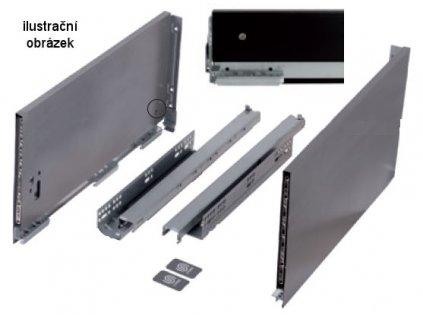 výsuv StrongMax 600/249mm, černý, 400368