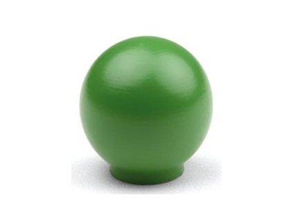 Tulip Nábytková knopka dřevěná Bala zelená, 09492, rozteč