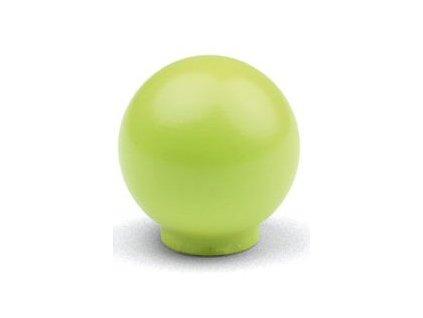 Tulip Nábytková knopka dřevěná Bala olivová, 09493, rozteč